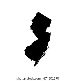 map of the U.S. state New Jersey