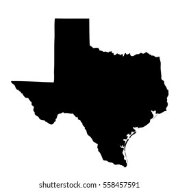 map of the U.S. state of Texas.