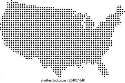 Dots On Us Map Images, Stock Photos & Vectors | Shutterstock Connected Usa Map on fcc line a map, voyage map, flight connections map, open map, robin hood map, professional map, happy map, no man's land map, pittsburgh metro map, earth drawings north america map, world map, the shining map, wireless connection map,