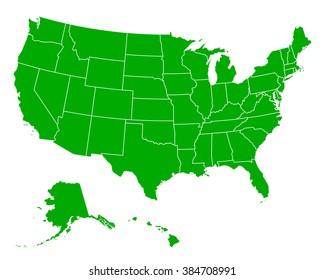 Us Map of Regions Stock Vectors, Images & Vector Art | Shutterstock