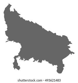Royalty-Free Uttar Pradesh Map Stock Images, Photos ...