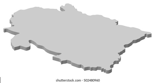 Uttarakhand Map Images, Stock Photos & Vectors | Shutterstock