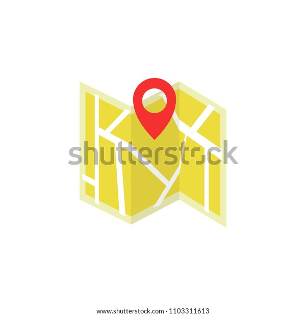 map vector icon