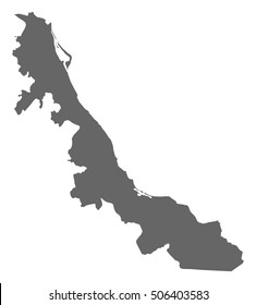 Map - Veracruz (Mexico)