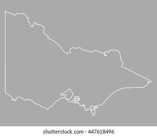 Map of Victoria