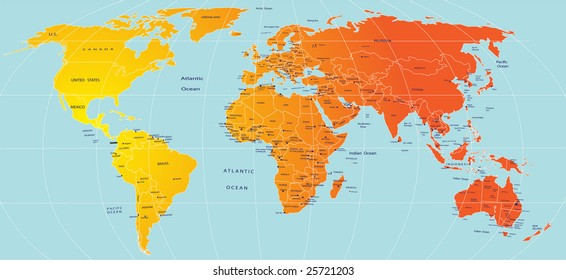 Map Of America Equator.Equator Map Images Stock Photos Vectors Shutterstock
