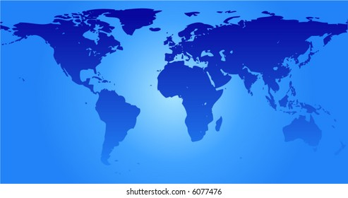 Map of the world (vector)