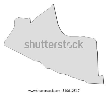 Map Yogyakarta Indonesia Stock Vector (Royalty Free) 510612517 ...