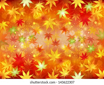 autumn leaves stock vector royalty free 145391632 shutterstock