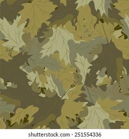 Maple camouflage background