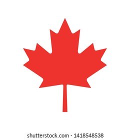 Maple leaf of canada design