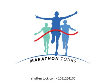 marathon tours illustration