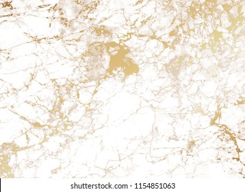 Marble background with golden texture.
