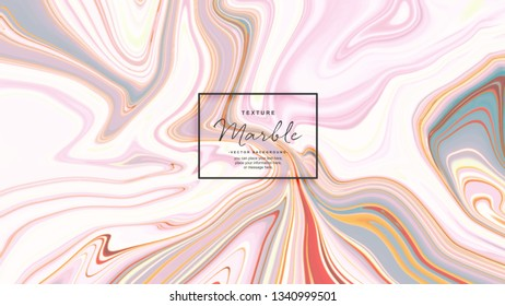 Marble texture colorful vector background