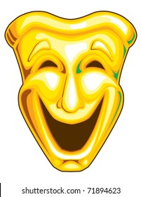 Mardi Gras Comedy Mask