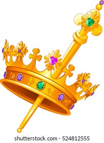 Royal Scepter Images Stock Photos Amp Vectors Shutterstock