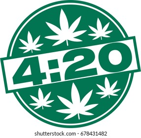 Marijuana 4:20 Cannabis, April 20
