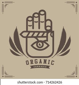 marijuana , cannabis logo graphics