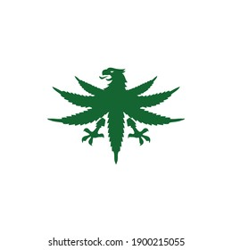 Marijuana CBD Pure Canadian Maple Leaf Cannabis For Medical Canada Leaves Technology Health Lifestyle Logo