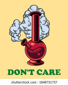 Marijuana don' t care Illustration vector art