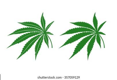 Marijuana leafs