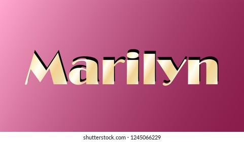 Happy Birthday Marilyn Images Stock Photos Vectors Shutterstock
