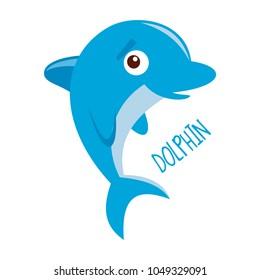 Marine life. Dolphin