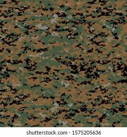 marine marpat camo pattern for wallpaper or print material decal, arid tropic multi terrain camouflage us military of america