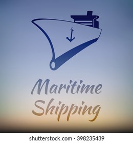 Maritime shipping - Company Logo Graphic Design for Ship Cargo Companies