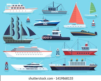 Imágenes, fotos de stock y vectores sobre Freight Boat