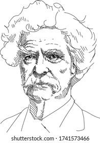 Mark Twain - American writer, journalist and public figure