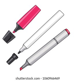 Marker Pen Vector illustration