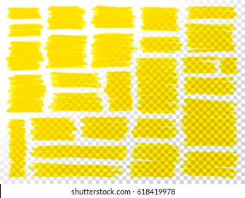 Marker scribbles vector. Big set or simple marks. Marker handmade effect strokes collection. Sketch design elements. Notebook doodles. Scribbles elements for education or business design.