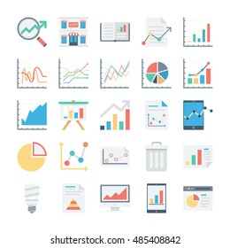 Market and Economics Colored Vector Icons 4