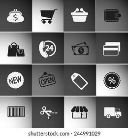 Market Icons Set