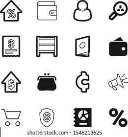 market vector icon set such as: handbook, alert, promotion, profile, earnings, print, basket, group, decoration, annual, interest, secure, safeguard, budget, creative, tax, internet, guard, trend