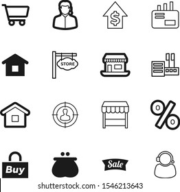 market vector icon set such as: post, saving, creative, placard, graph, signage, communication, message, research, bank, point, send, currency, target, front, drawing, food, crowd, stats