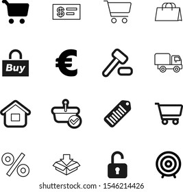 market vector icon set such as: auction, transportation, percent, home, court, star, art, gavel, judgement, blank, lorry, computer, check, construction, new, 10, fast, digital, discount, keyhole