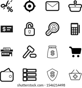 market vector icon set such as: add, team, personal, judgment, opportunity, menu, send, old, reader, style, building, price, cheque, newsletter, group, view, tax, drop, transparent, purse, wallet