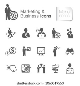 Marketing & business icons