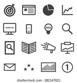Marketing icons.