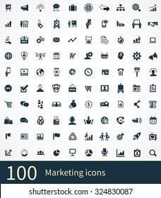 marketing Icons Vector set