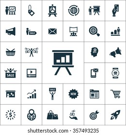 marketing Icons Vector set