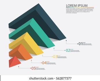 Marketing Pyramid - Vector Infographic