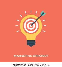 Marketing strategy illustration, innovative marketing techniques