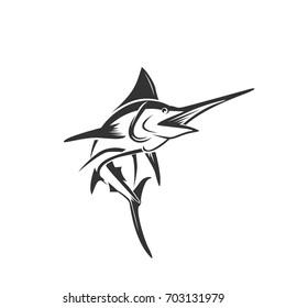 marlin fish art