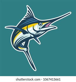 marlin pelagic fish