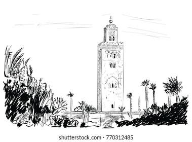 Marocco in the sunny day