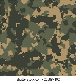 MARPAT woodland seamless camo texture vector
