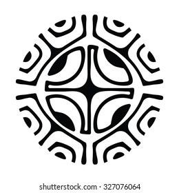 Marquesan Cross Is Symbol Which Used In Polynesian Tattoo Designs Itas